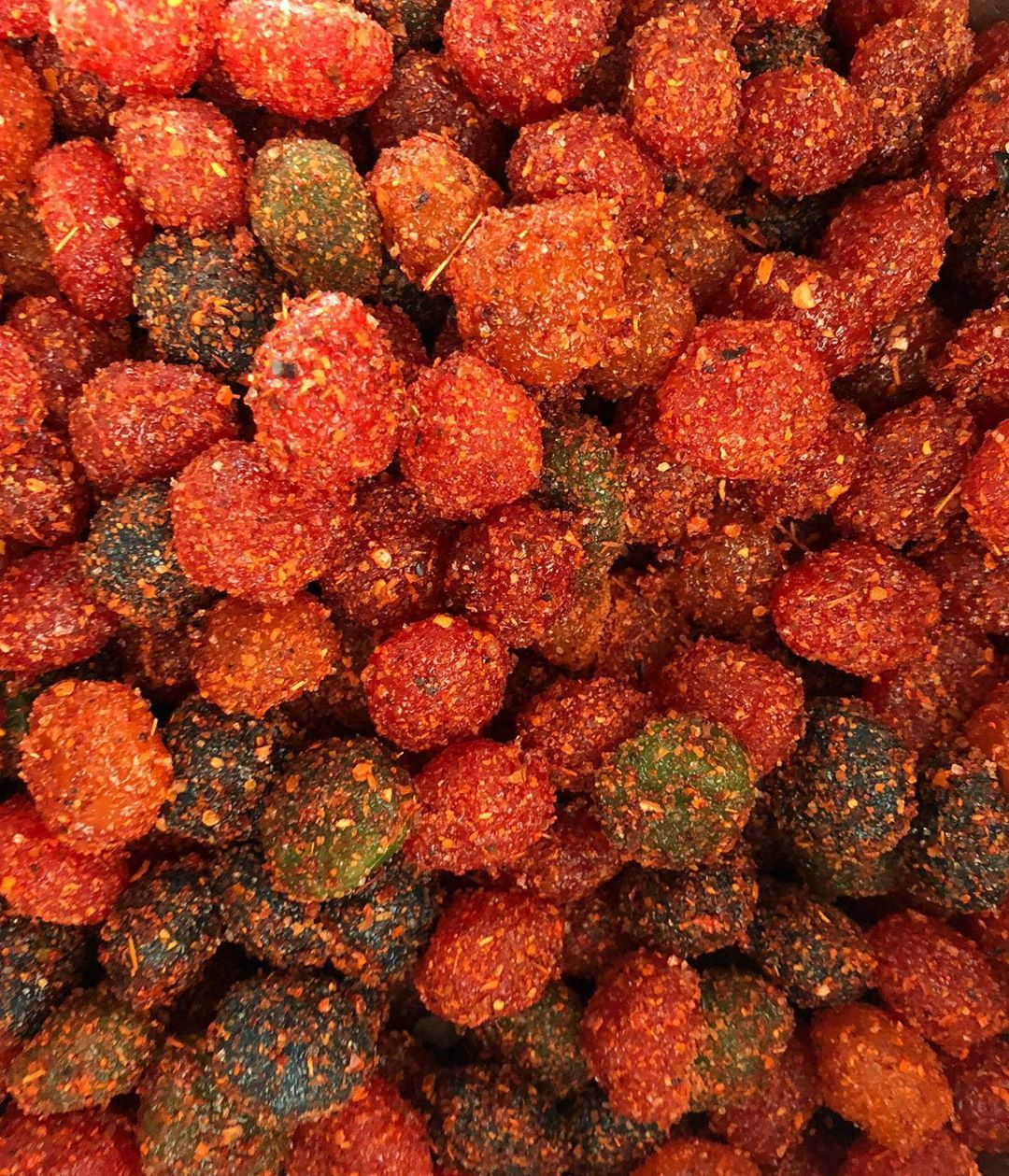 Gushers covered in chili powder are a popular snack and