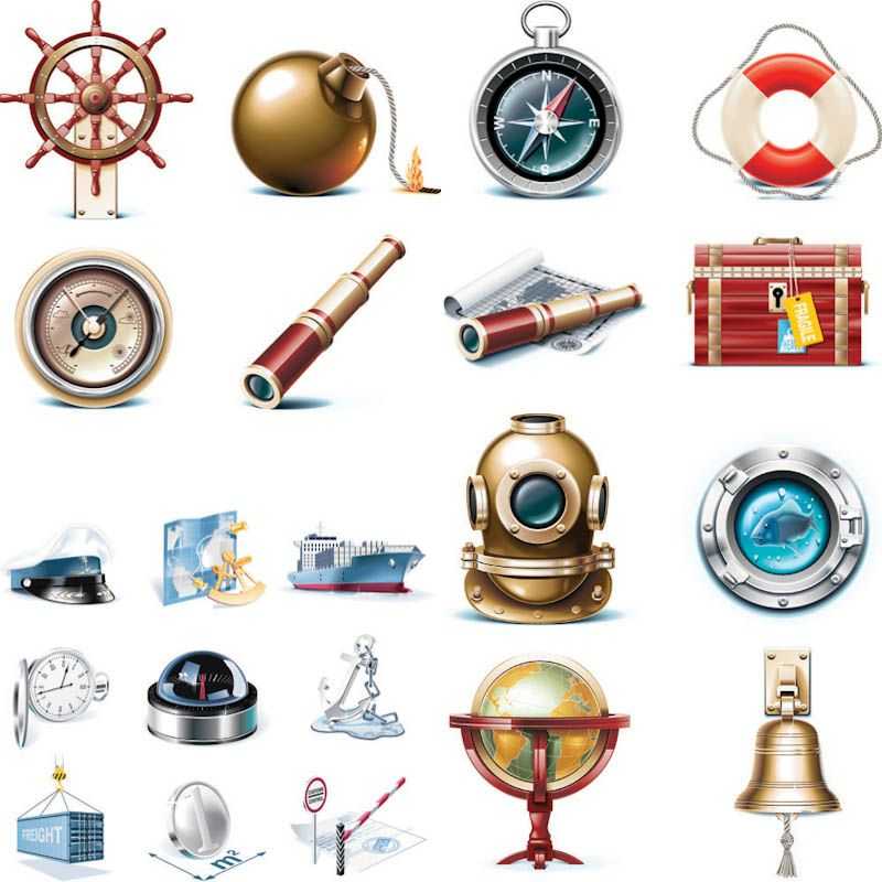 marine themed vector icons p tags pinterest marines icons and