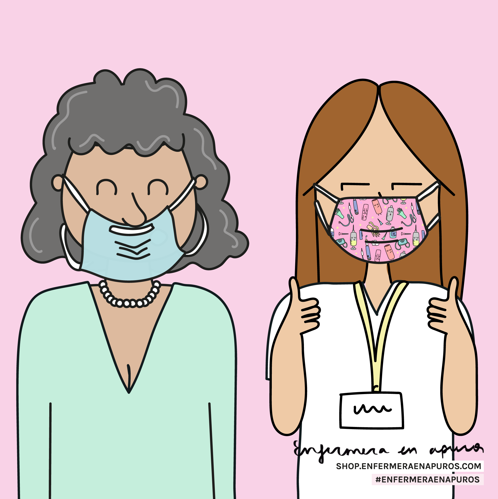 Mascarillas Enfermera En Apuros Enfermera Imagen Enfermera Humor De Enfermera