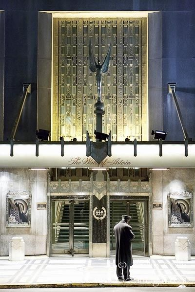 Waldorf Astoria Tower New York City New York Times