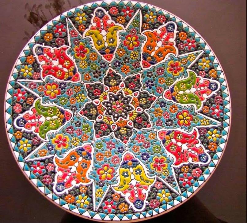 Lalejin - Iran's Pottery Capital The city of Lalejin in Hamedan Province lies 20 kilometers northwest of the provincial ci…   Persian culture, Islamic art, Pottery