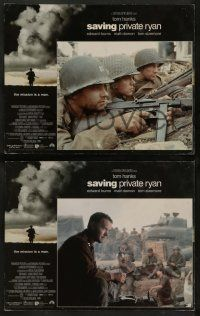 8w542 SAVING PRIVATE RYAN 6 LCs '98 Steven Spielberg, Tom Hanks, Tom Sizemore, Matt Damon!