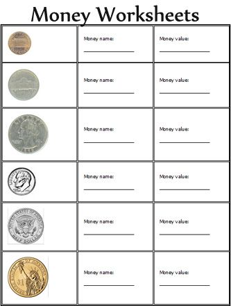 Worksheet Free Printable Money Worksheets For Kindergarten 1000 images about kids school on pinterest money worksheets for kindergarten and math