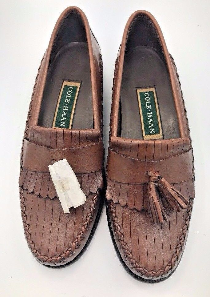 Cole Haan Woven Leather Loafer Pumps discounts cheap price latest for sale geniue stockist for sale tumblr countdown package cheap online VFKzp4u