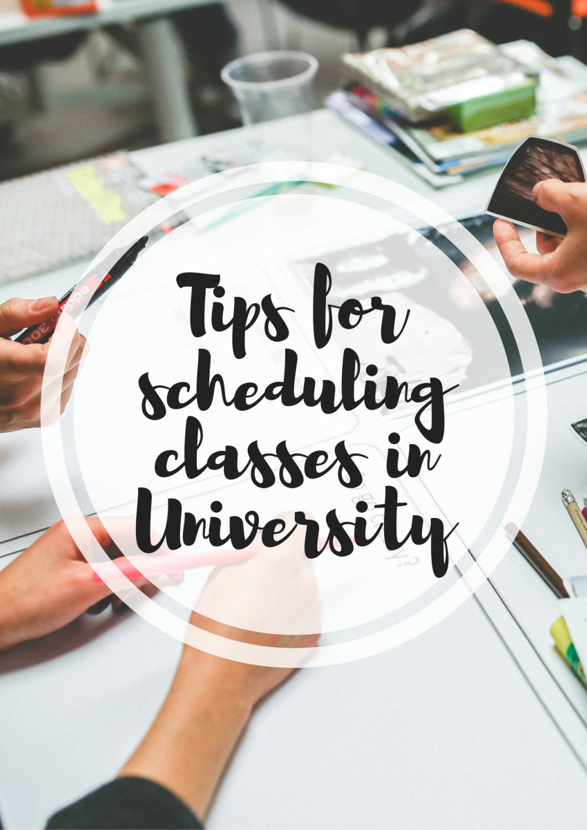 Seven Tips For Organising Your University Timetable  Study Break