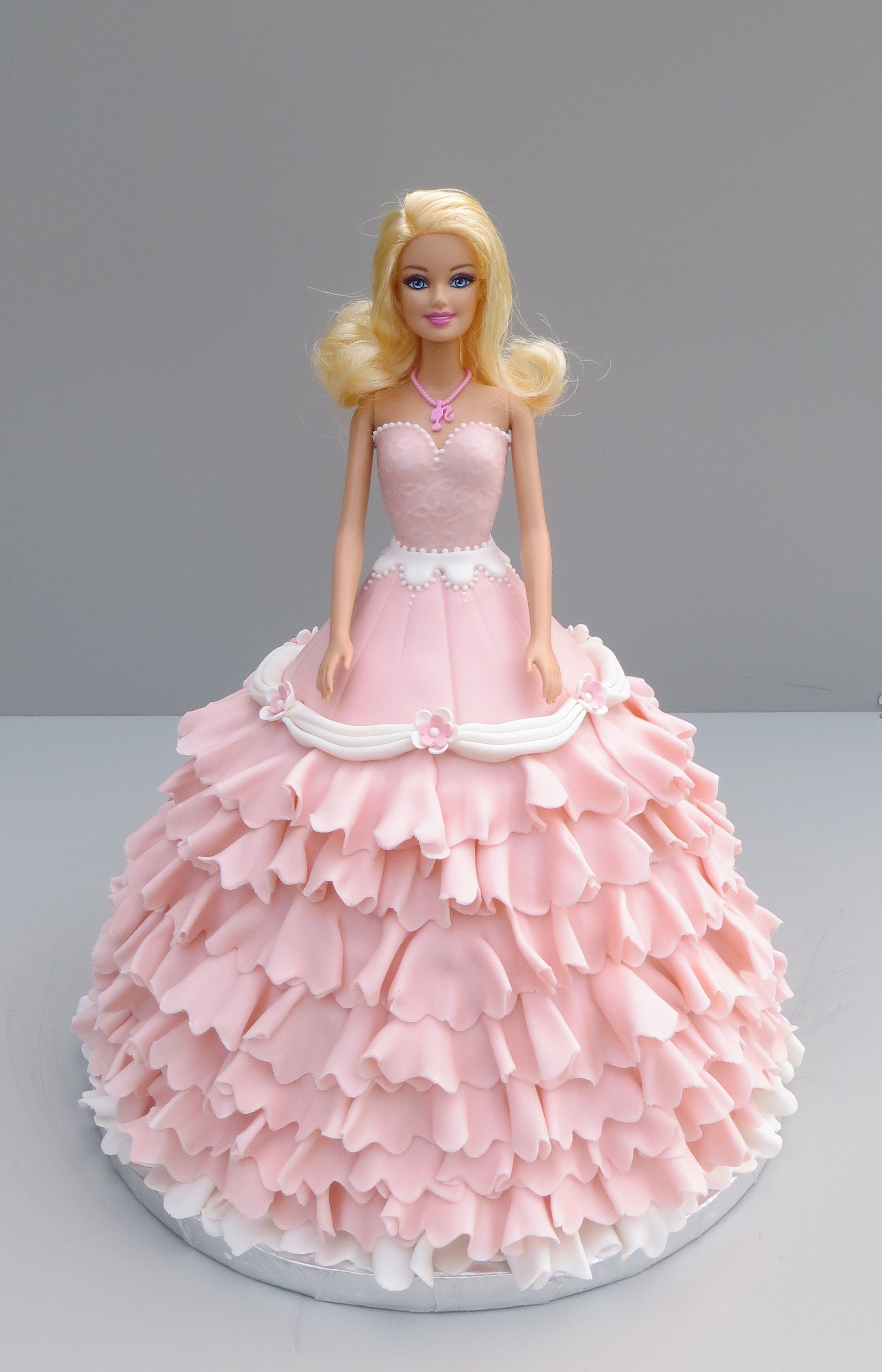 Barbie With Images Princess Doll Cake Doll Birthday Cake