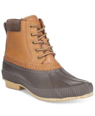 90ceacd44 TOMMY HILFIGER Tommy Hilfiger Men's Casey Waterproof Duck Boots ...