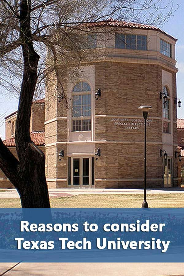 Reasons to consider Texas Tech University Honors College