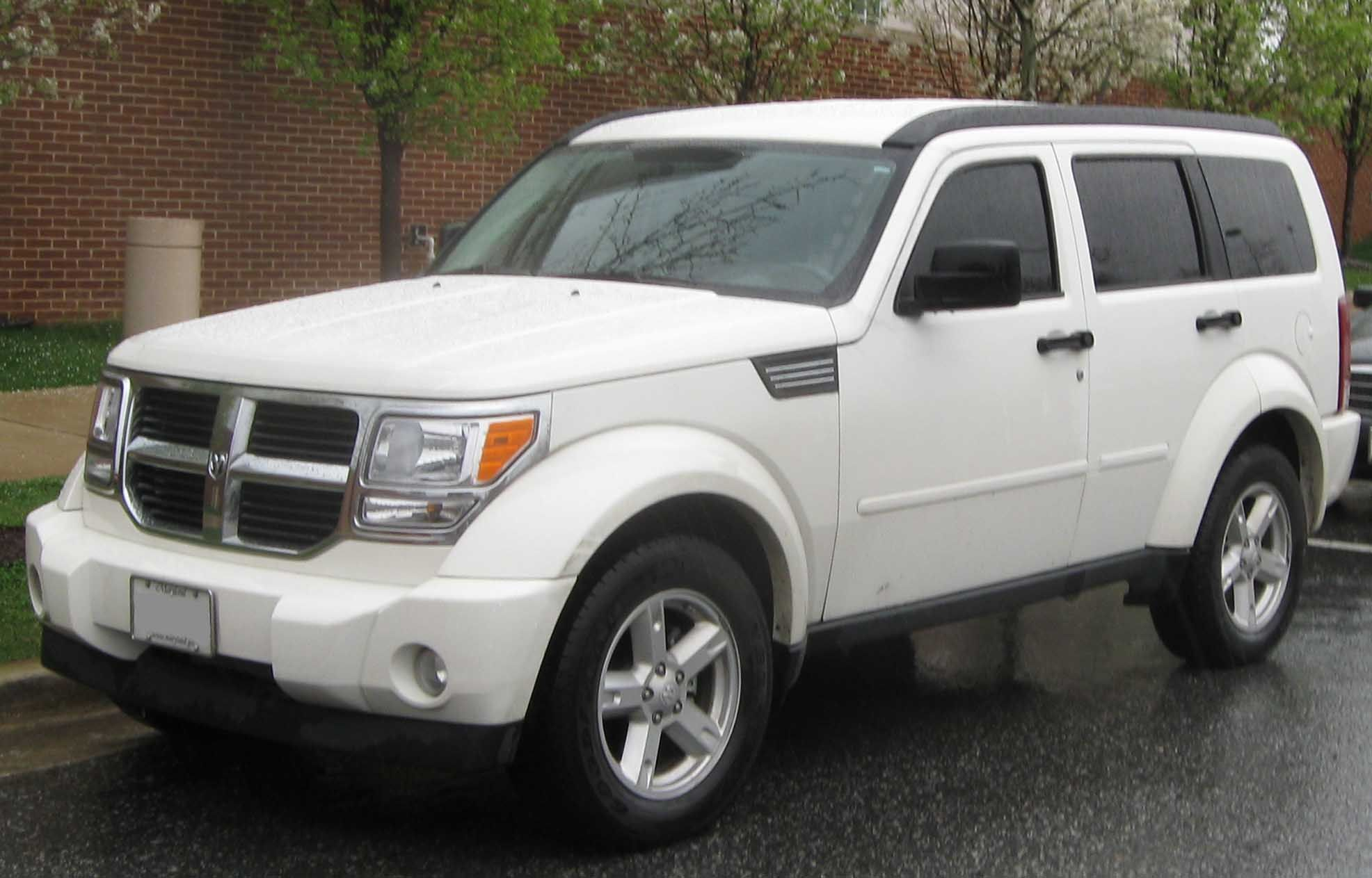 2008 Dodge Nitro Mine Was Impact Orange And Had Nicer Wheels