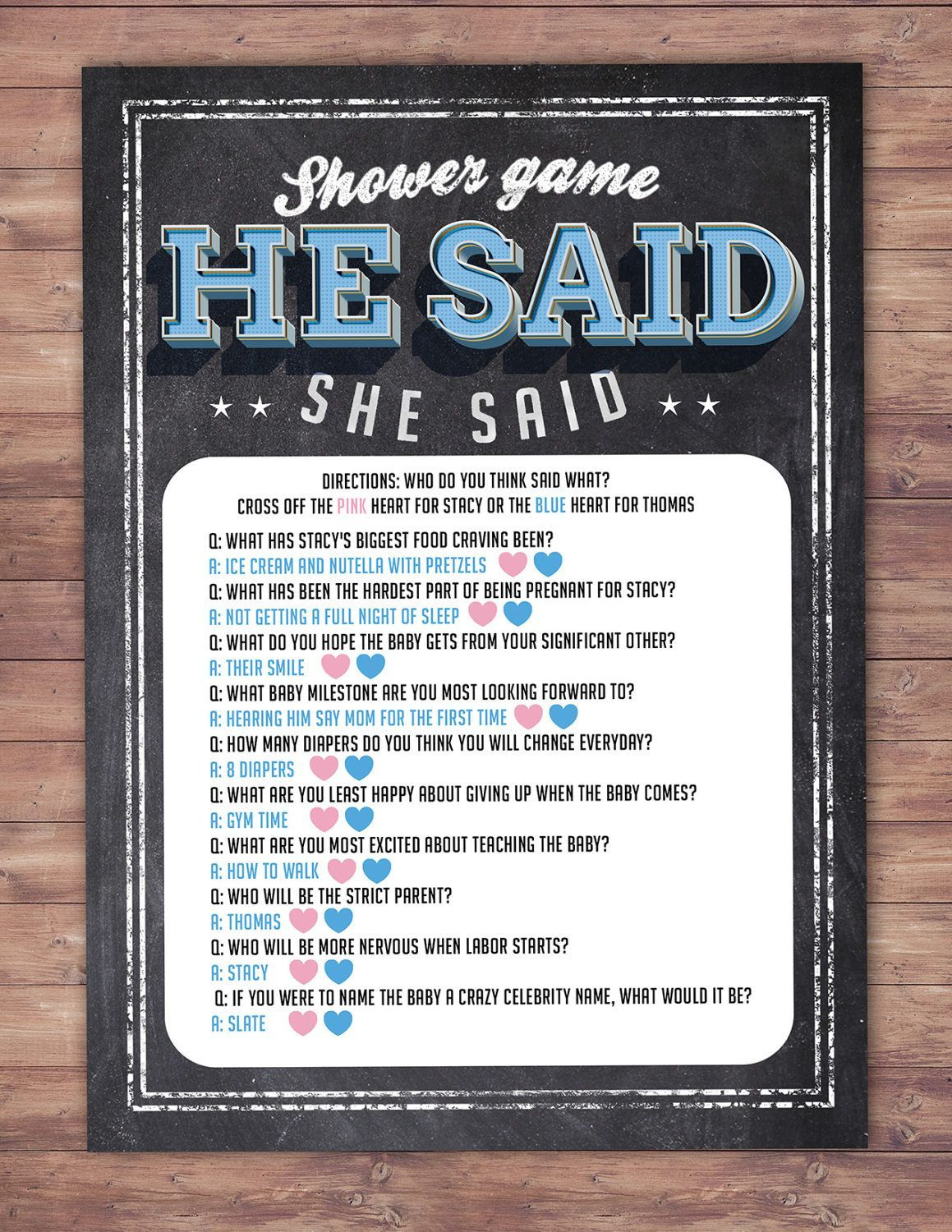 Image result for couples baby shower game #babyshowergamescouples