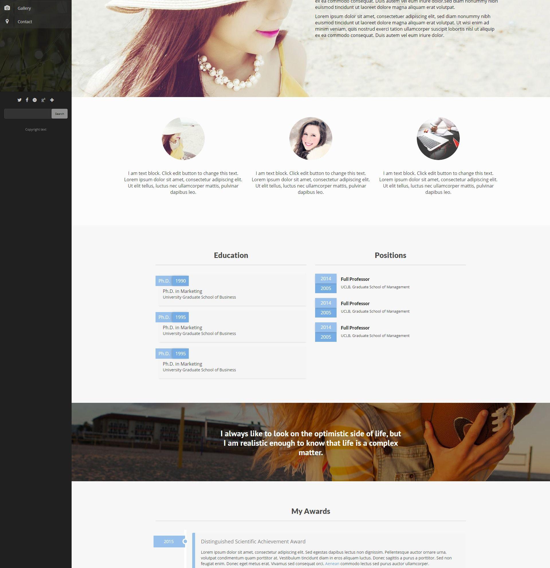 Faculty Wordpress Theme Website Design Inspiration Wordpress Theme Blog Platforms