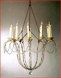 Nierman weeks italian chandelier -
