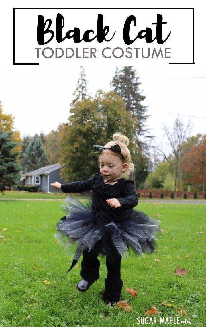 Black Cat Costume Diy Tutu Fabulous Mommy Bloggers
