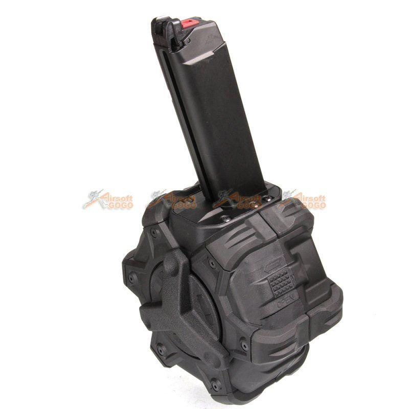 Airsoft Shooting Gear CYMA 27rd Metal Magazine For CM030 CM123 Marui 18C AEP AEG
