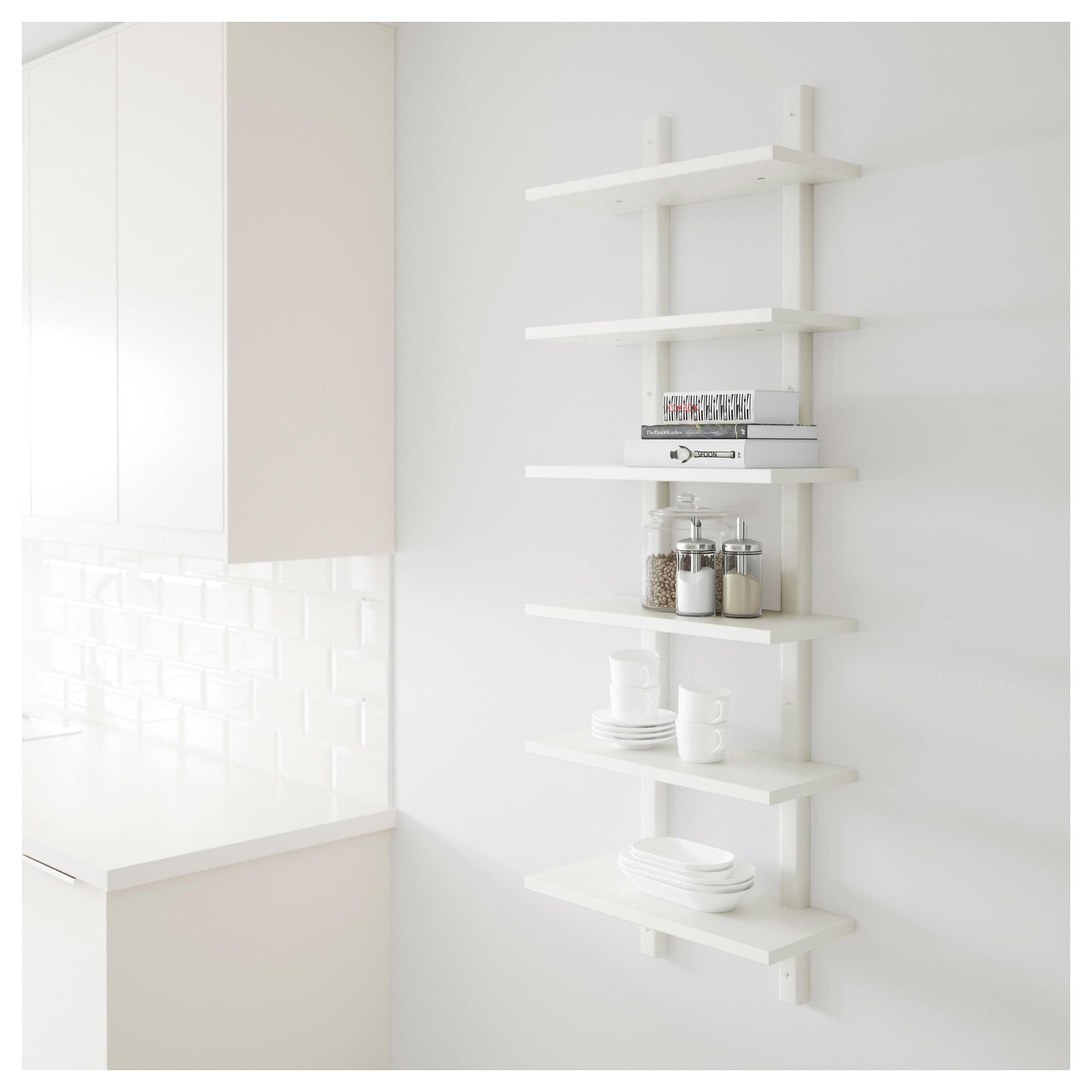 Sensational Varde Wall Shelf White Next House Ikea Wall Shelves Interior Design Ideas Gentotryabchikinfo
