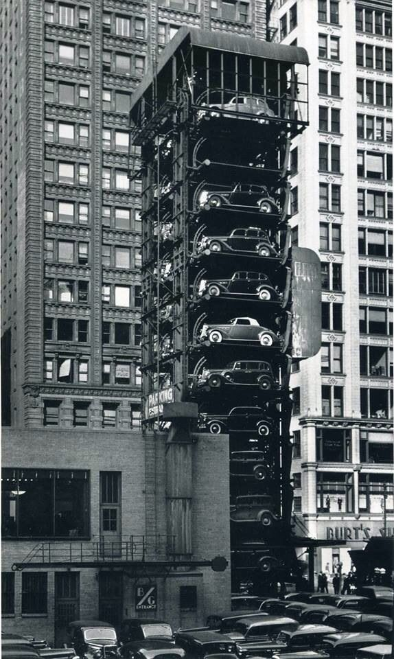 Elevator Parking in NYC (part II) | photos in 2019 | History