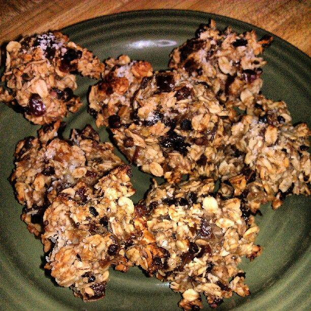 banana oatmeal cookies!