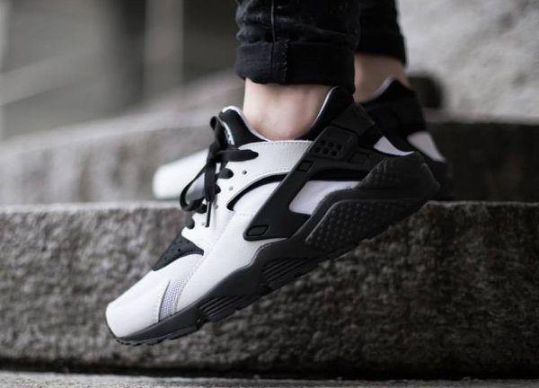 Nike Air Huarache Black/White (Noir & Blanc)