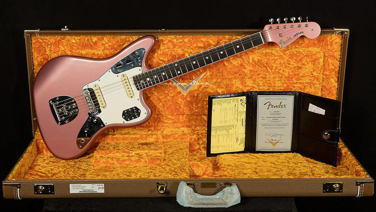 2018 Winter NAMM 1964 Lush Closet Classic Jaguar Guitar