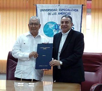 UDELAS y la Arquidiócesis renuevan convenio de cooperación
