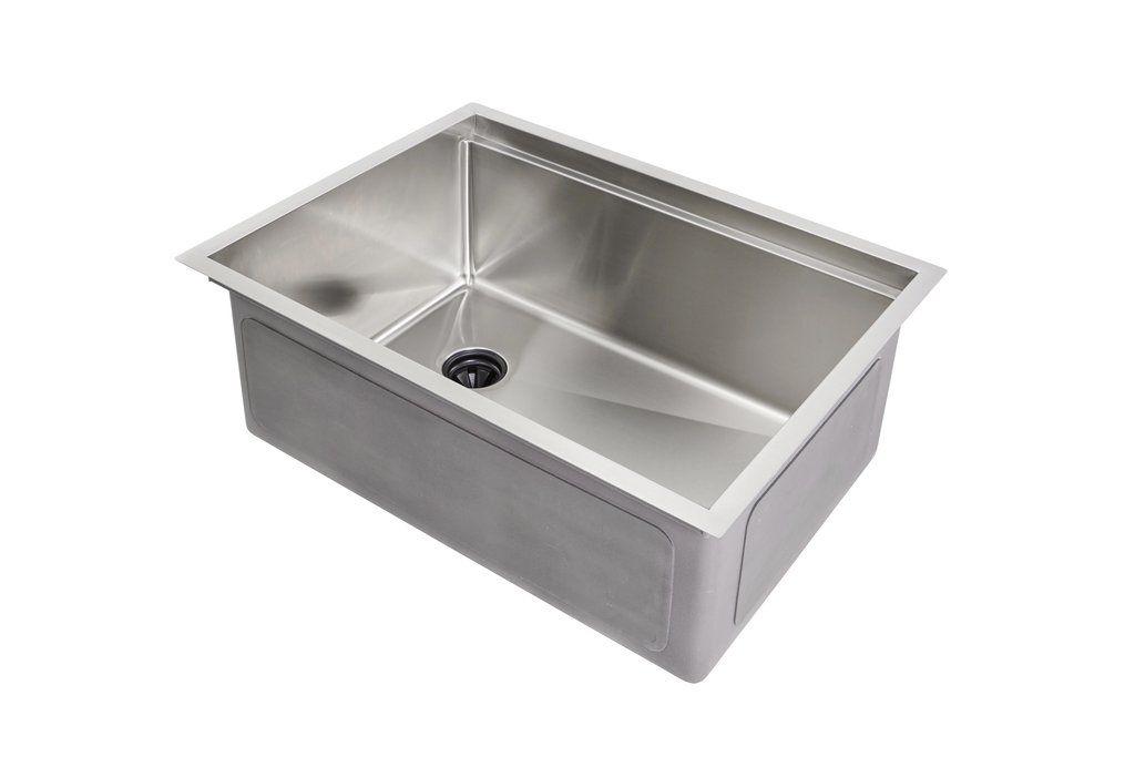26 Ledge Sink Single Bowl Offset Drain Left 5ls26l Sink Single Bowl Sink Bar Sink