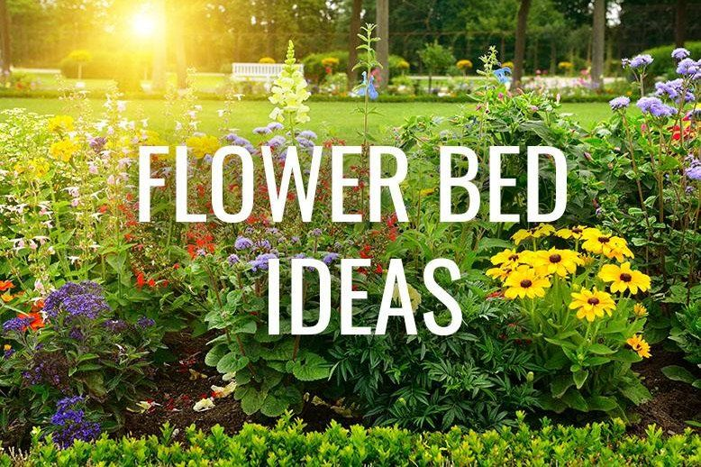 Flower Bed Ideas Rc Willey Blog Simple Beds Rustic Garden Design