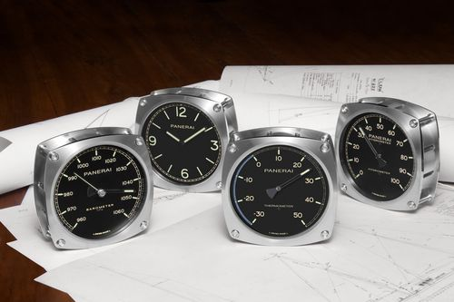 Panerai Releases Four New Navigational Instruments Inspired By A 1930s Yacht
