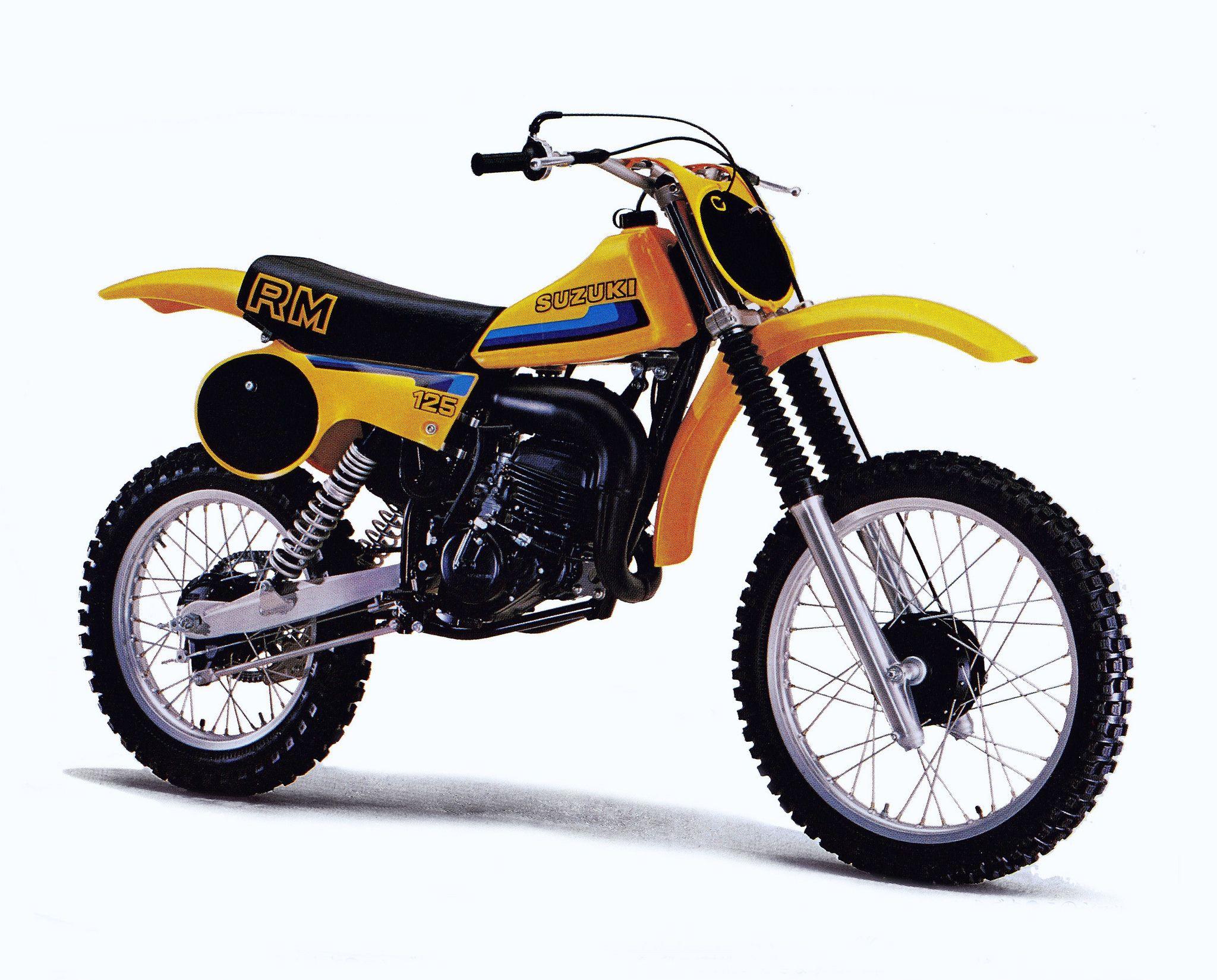 1980 Suzuki RM125 | Dirt Bikes | Motocross bikes, Mx bikes