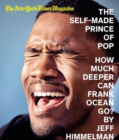 Frank Ocean e uma declaração bem forte na NYT Mag