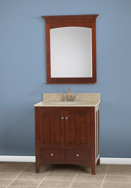 Rta Bathroom Brown Cabinets Ready To Emble
