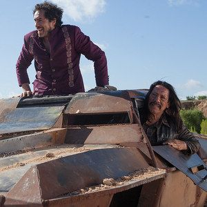 First Machete Kills Clip Features a Surprise Cameo! -- This insane action-packed tease finds Danny Trejo and Demian Bichir being chased by Sofia Vergara, Lady Gaga and Alexa Vega. -- http://wtch.it/kh51h