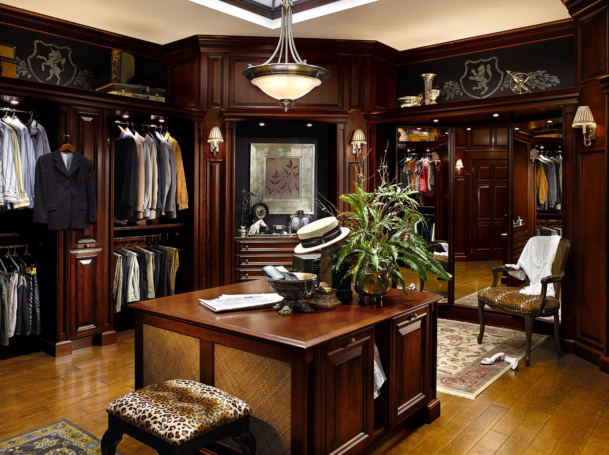 The Dressing Room For Handsome Men Home Closet Designs Men Closet