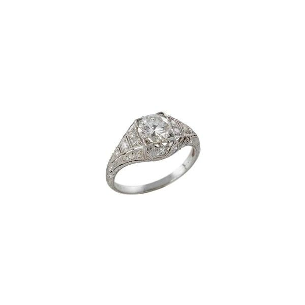 Old School Style Choosing A Vintage Engagement Ring Liked On