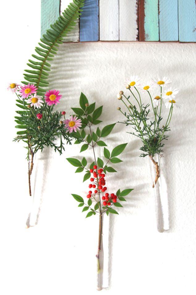 Diy Easy Hanging Wall Vases Hanging Wall Vase Wall Vase Flower Vase Diy