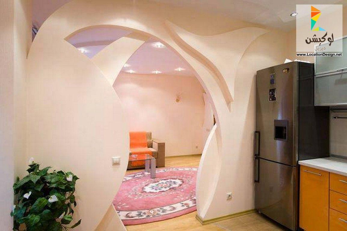 ديكورات جبس فواصل صالات بالجبس 2017 2018 لوكشين ديزين نت False Ceiling Design False Ceiling Living Room Ceiling Design