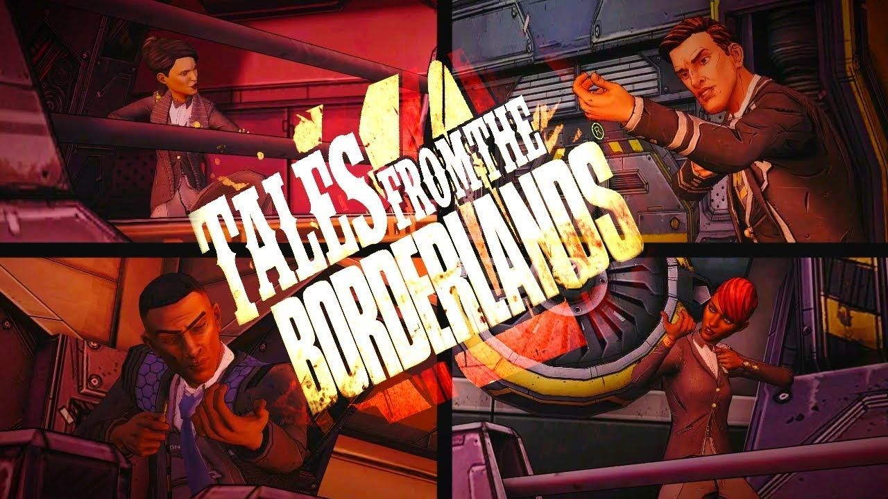 Funniest Moment Tales From The Borderlands Ep 4 Tales From The Borderlands Funny Moments Borderlands