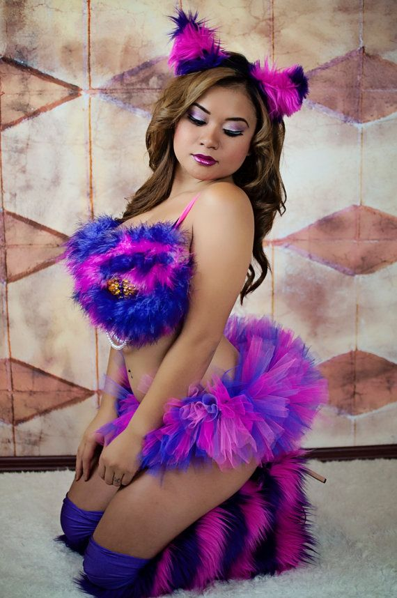 987e381cf82f3 Cheshire Cat Costume   Rave Bra