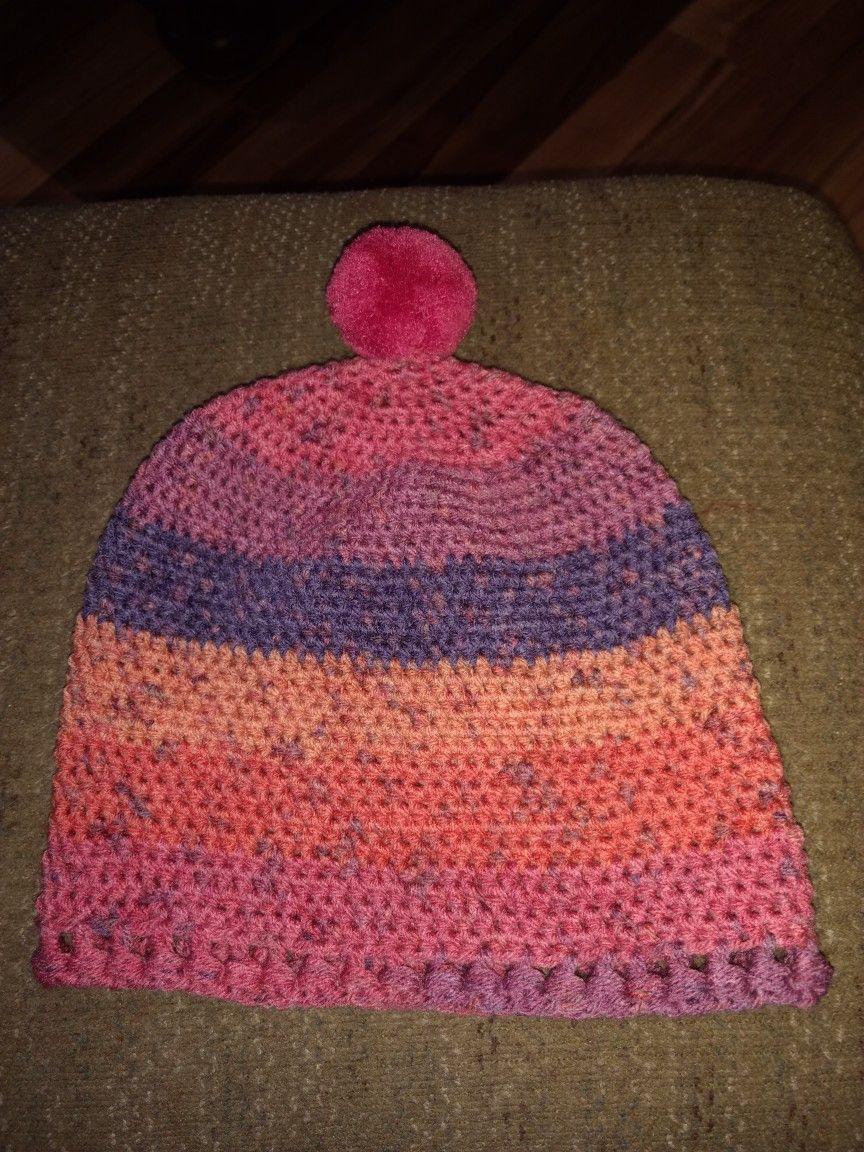 Another Caron Cupcake hat   Hat knitting patterns, Cupcake ...