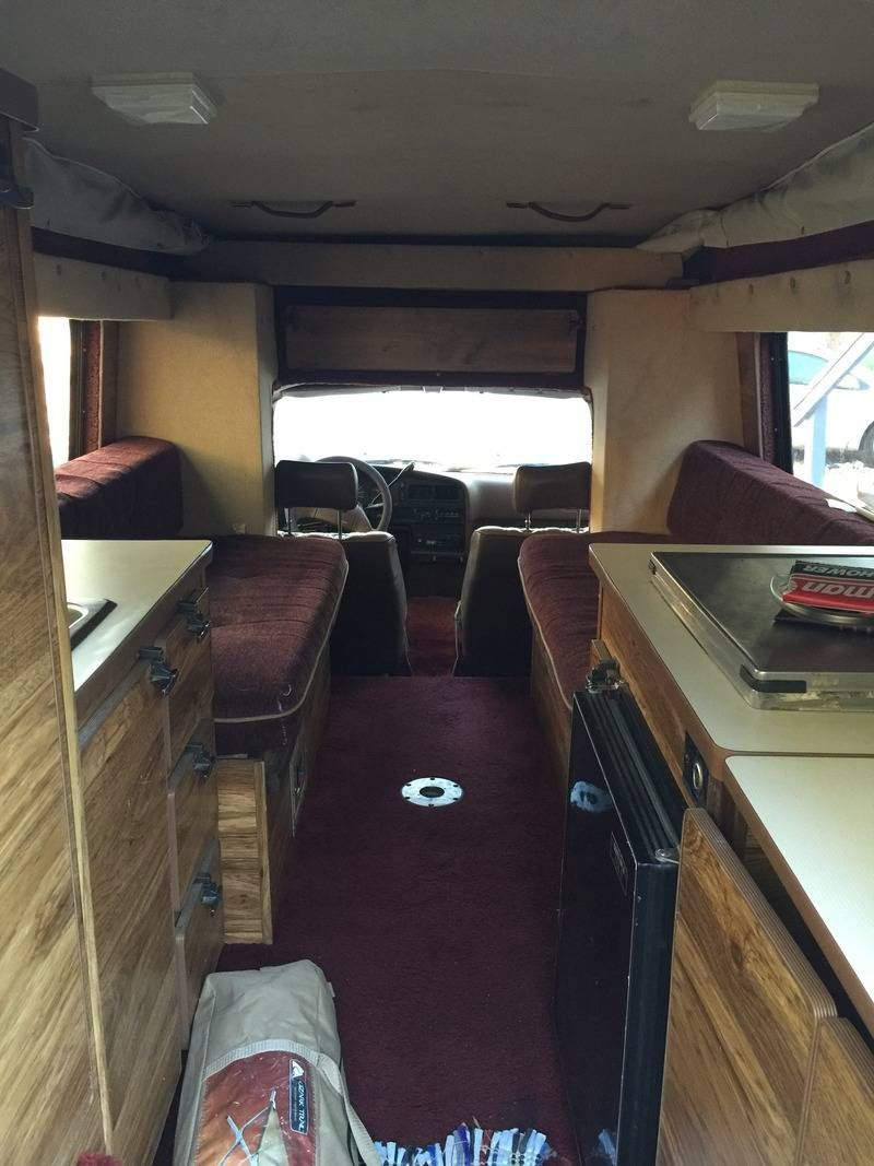 Toyota Bandit Interior Sleeps 6 If 4 Of The People Are Little