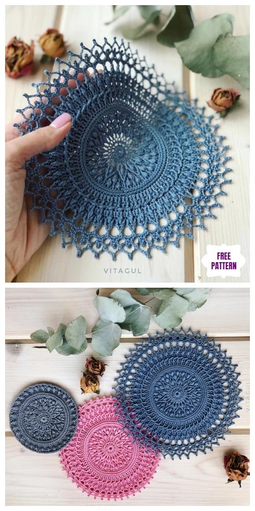 Crochet Tesla Doily Free Crochet Pattern - DIY Magazine