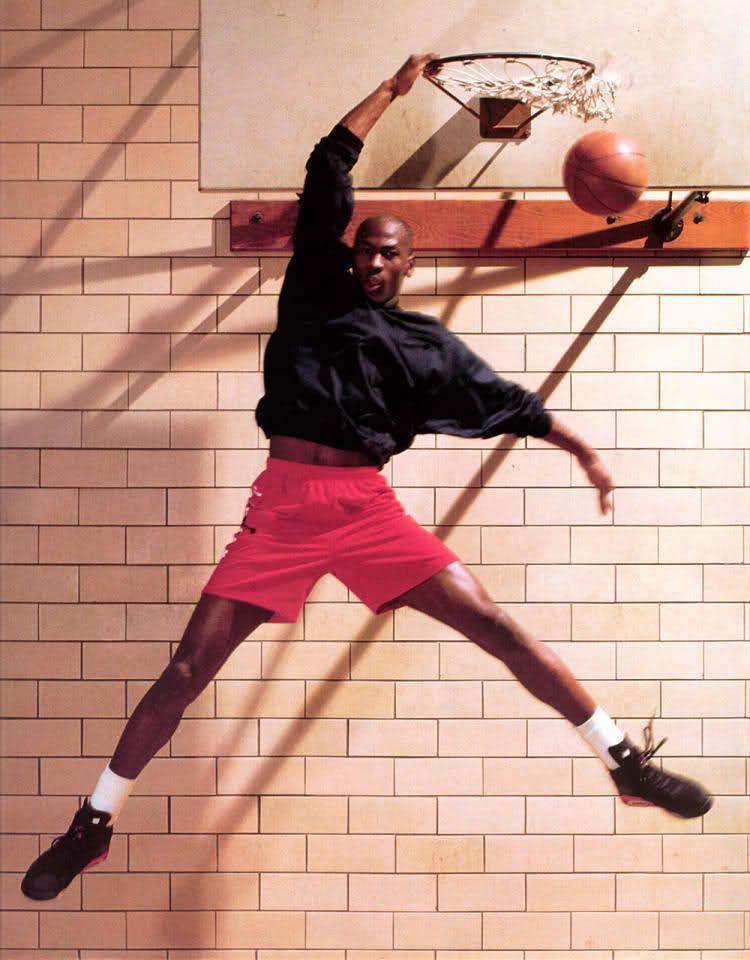 Michael Jordan 'Slam Dunk' Nike Jordan Poster (1991)