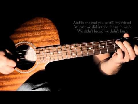 1 Jason Mraz I Wont Give Up Guitar Cover With Lyricschords