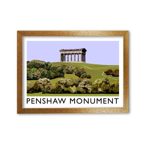 Photo of 17 Stories Framed Poster Penshaw Monument by Richard O'N …