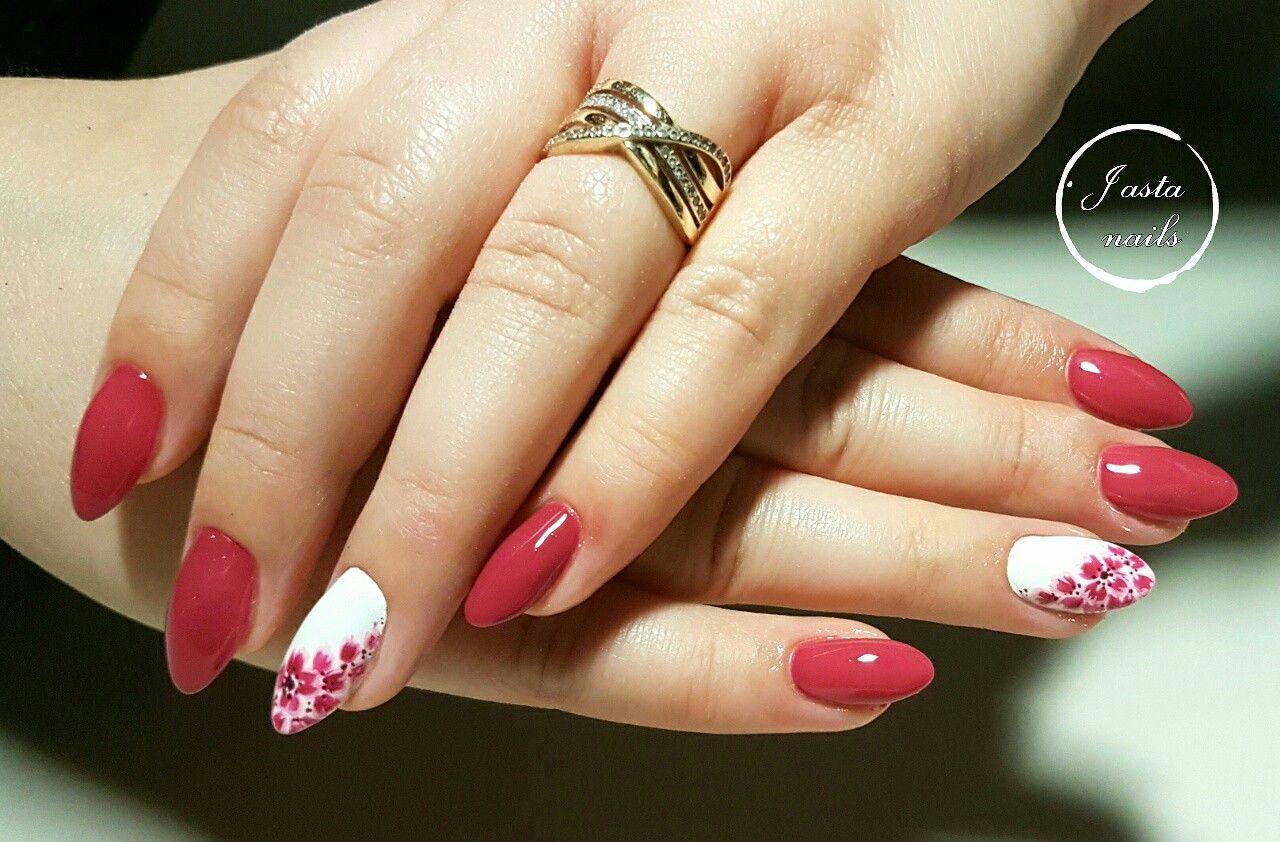 Wiosenne Paznokcie Manicure Nails Make Up
