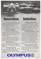Olympus OM Cameras 1978 Ad Picture