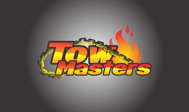 Tow Masters Tow Masters Selected Winner Client Logo Logo Design Typography Contest Design Logo Design