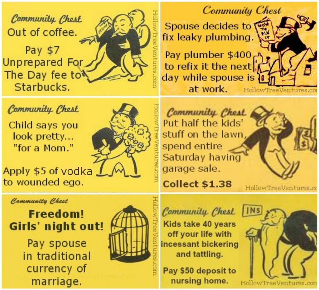 as slow as + funny Google Search Monopoly cards