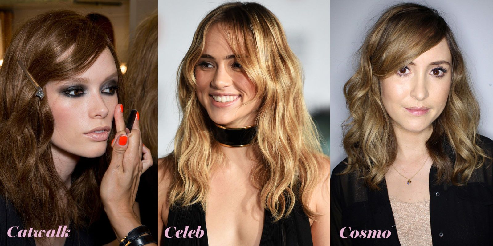 How to do the s wave Side fringe Cosmopolitan and Hair trends