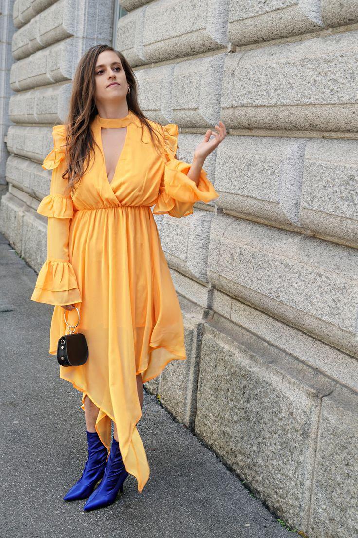 Trendfarbe orange macht glücklich in in wardrobe pinterest