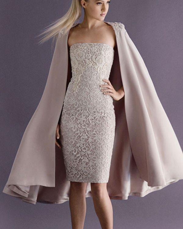 4716411ce67 Classy and Sassy! 25 Utterly Gorgeous Short Wedding Dresses